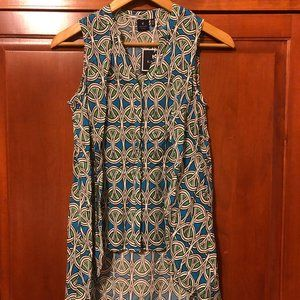 Kaari Blue NWT Dressy Top